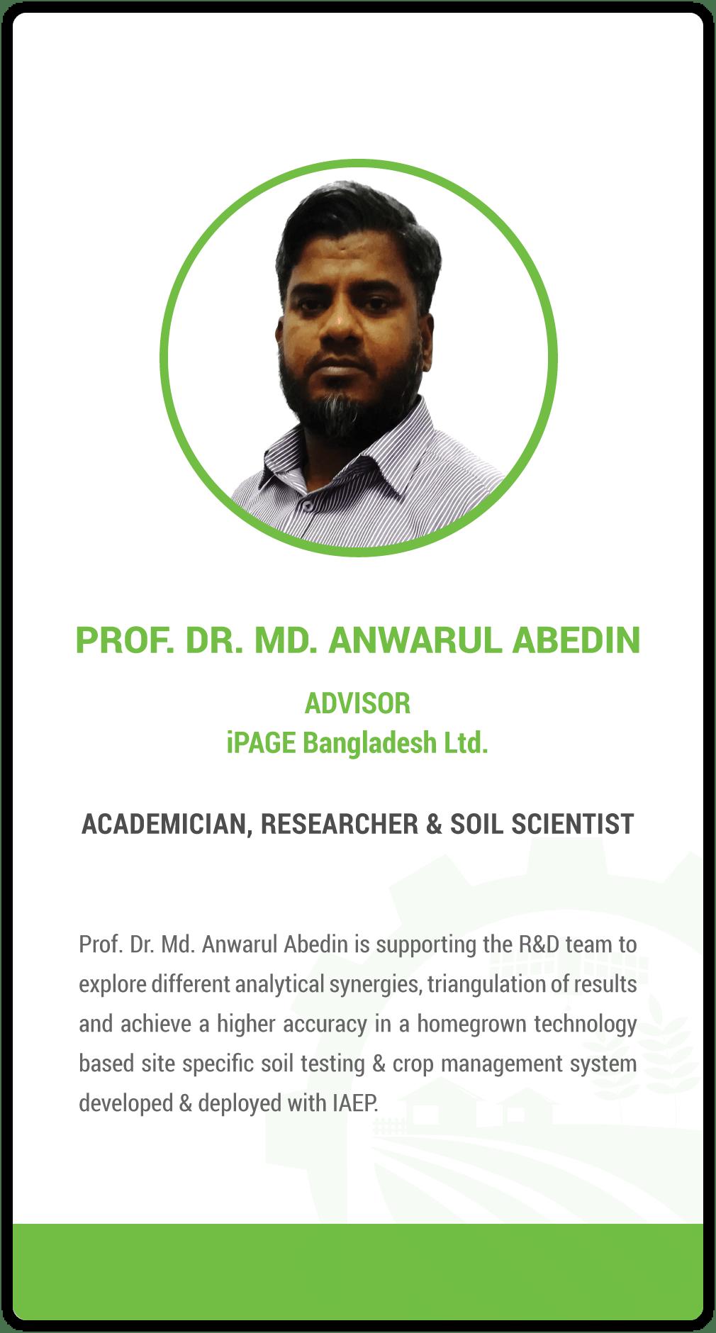 Anwarul Abedin