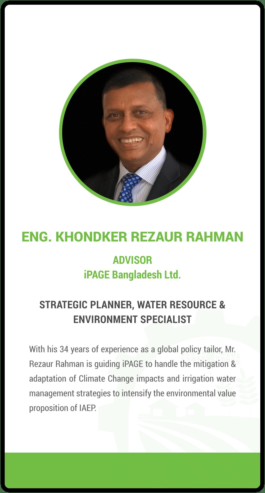 Khondkar Rezaur Rahman