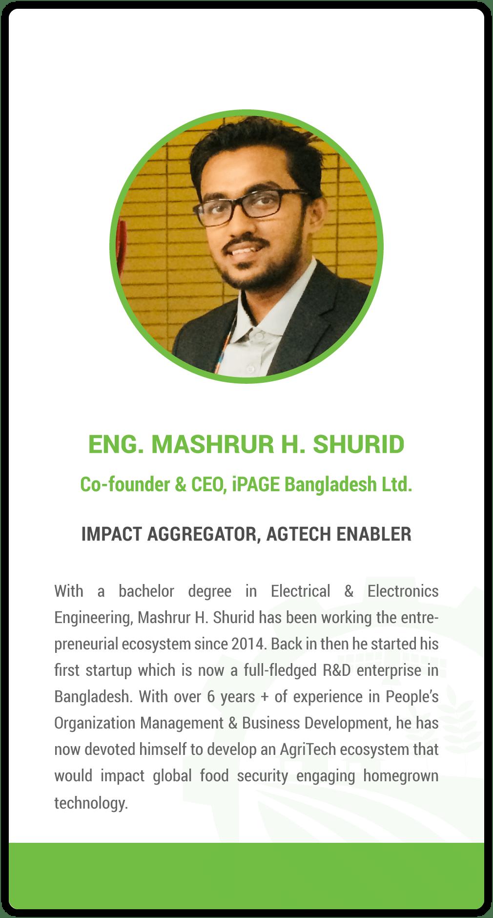 Mashrur H. Shurid