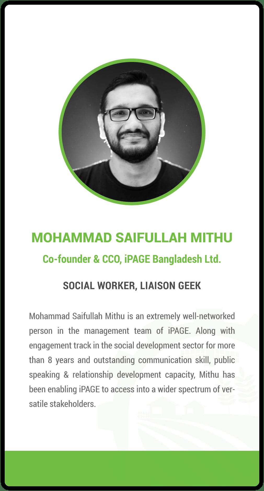 Mohammad Saifullah Mithu
